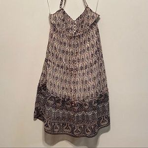 American Eagle Outfitters Halter Style Mini Dress